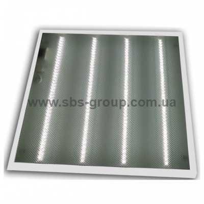 Светильник потолочный LED Lumen 4x10W 600x600 призматик 6500K
