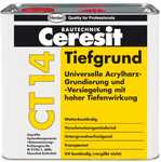 Грунт глубокопроникающий на растворителях Ceresit CT14, 5л