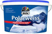 Краска супер белая акриловая DUFA  Polarweiss D605 10 л