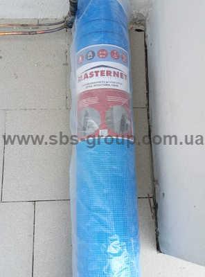 Сетка стекловолоконная Синяя MASTERNET FACADE 145 (50м2)